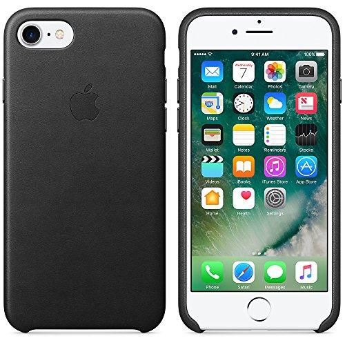 Apple MMY42ZM / A 7 iPhone mer bleue étui en cuir Noir