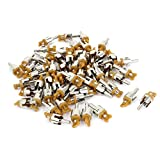Spare Parts RCA Male Plug Audio Video Coupler Adapter Connector 60Pcs