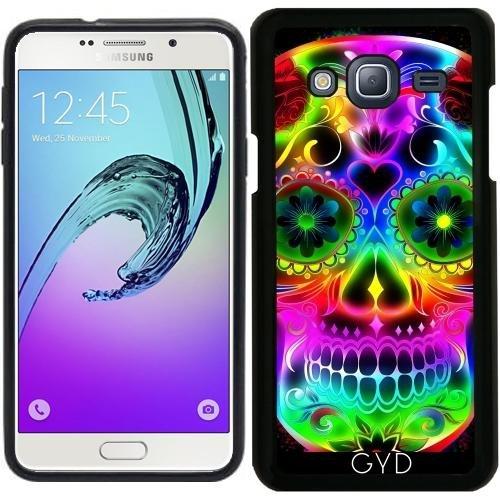Custodia Silicone per Samsung Galaxy J3 2015 (SM-J310) - Skull20151213 by JAMFoto