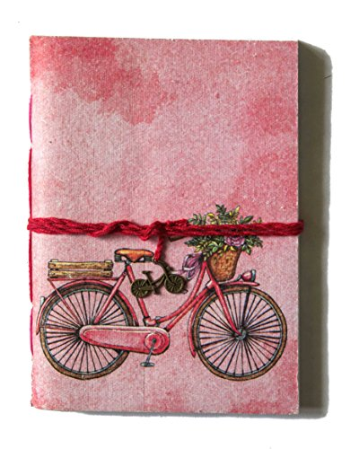 SPcreation Vintage Bicycle handmade Handicraft Diary(12.7cm x 17.78 cm)(94 pages)