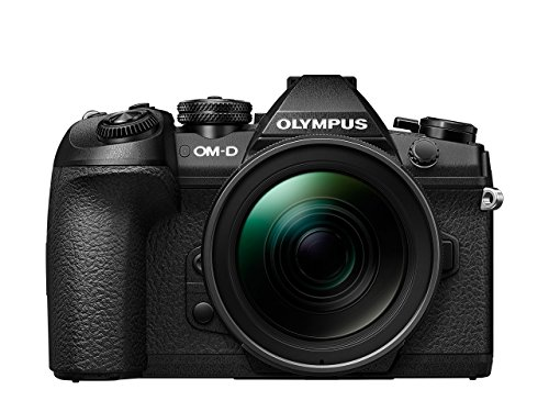 Best Saving for Olympus OM-D E-M1 Mark II Compact System Camera with 12 – 40 mm Lens Kit with Manfrotto Befree Carbon Fibre Travel Tripod with Ball Head – Black Special