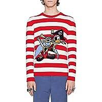 ECTIC unisex-adult Men's Women Pirate Donald Duck Wool Sweaters Sweatshirts G9952