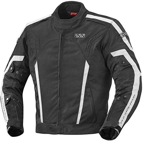 Preisvergleich Produktbild IXS RANDELL Herren Motorrad Textiljacke Sport - schwarz weiss