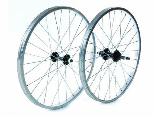 Tru-build Wheels RGH720 Vorderrad, Silber, 20 x 1,75 Zoll