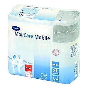 Molicare Mobile – Karton Gr. XL, 130 – 170 cm Hüftumfang, 4x14Stk.