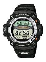 Reloj de caballero CASIO Collection SGW-300H-1AVER de cuarzo con altímetro, barómetro, cronógrafo, cuenta regresiva, correa de caucho, color negro de Casio