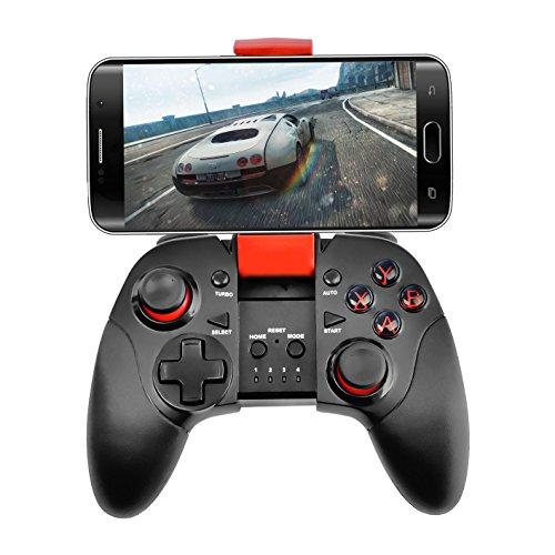 'Bluetooth-Gamepad Gamepad Joypad Joystick kabellos mit Clip für Android S6Edge/S7Rand/Note/Note 5/Nexus/LG/Tablet PC/TV Box/Windows/Emulatoren/Bullauge-Tauchen Opaion ca1047fr (Samsung Note 4-kabel-tv)