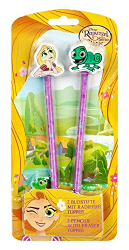 Undercover ravt0154lapiceros con Goma de borrar, Disney Rapunzel