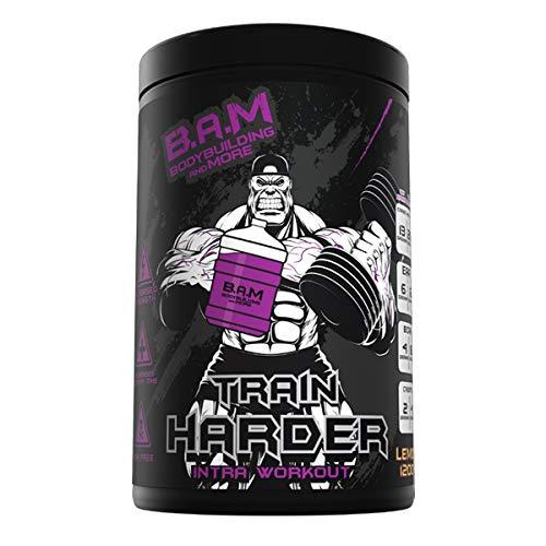B.A.M Train HARDER(1200g) Kirsche-Das neue und besste Intra-Workout Supplement -