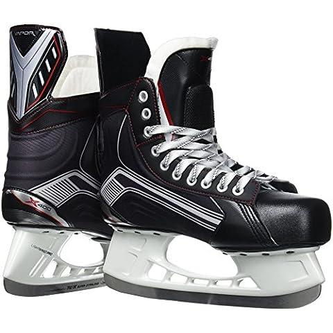 Bauer patines de hielo para hombre vapor X 400, otoño/invierno, color Negro - negro, tamaño 8,5