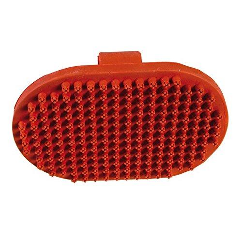 Palmo ovale per massaggi - Spazzola realizzata in gomma, utile a massaggiare il pelo del cane o del gatto