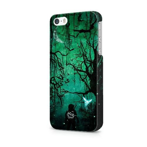 iPhone 5C coque, Bretfly Nelson® VALENTINO ROSSI Série Plastique Snap-On coque Peau Cover pour iPhone 5C KOOHOFD911725 ZELDA - 001