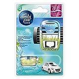Ambi Pur Car Deodorante per Auto, Starter Kit, Acqua - Freschezza...