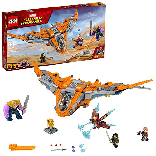 Lego Marvel Super Heroes - Avengers - Le Combat Ultime de Thanos - 76107 - Jeu de Construction
