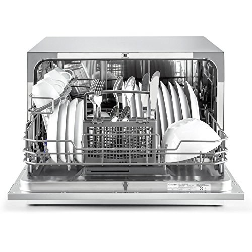 Klarstein Amazonia 6 Argentea Spülmaschine Tischgeschirrspülmaschine Silber - 6