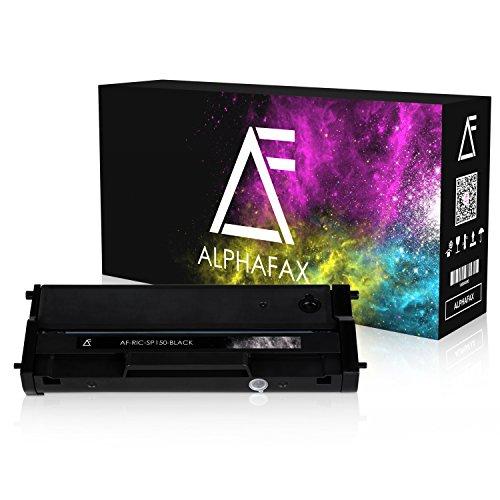 Preisvergleich Produktbild Alphafax Toner kompatibel zu Ricoh SP 150 Type-150 HC für Ricoh SP 150suw, SP 150w, SP 150su, SP 150 - Schwarz 1.500 Seiten
