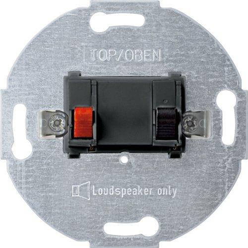 Preisvergleich Produktbild Merten 466914 Lautsprecher-Anschluss-Einsatz, 1fach, anthrazit