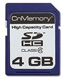 CnMemory 4GB SDHC Class 4 memoria flash Classe 4