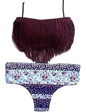 Bikiní de las mujeres,Internet Venda Push-para arriba rellenado del traje de baño