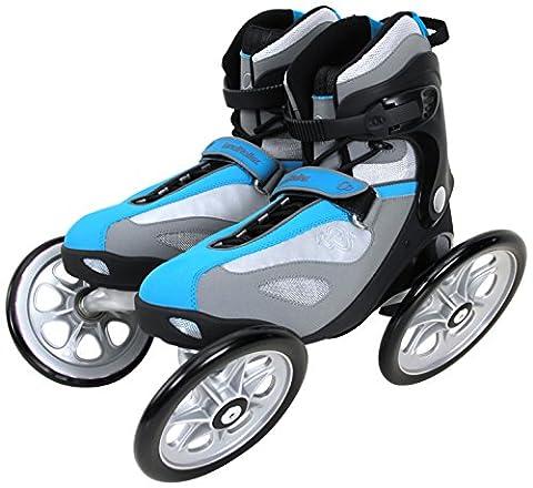 Landroller Terra 9 Roller tout chemin Bleu/Noir Taille 42