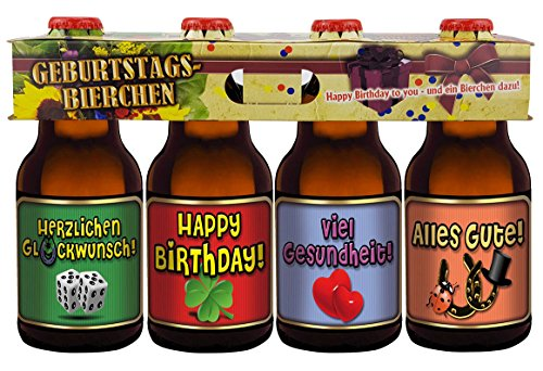 Bier Teilen (Geburtstags Bier im Happy Birthday 4er Träger Teil 2)