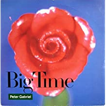 """BIG TIME 7"""" (45) UK VIRGIN 1987 B/W CURTAINS (PGS3) PIC SLEEVE"""
