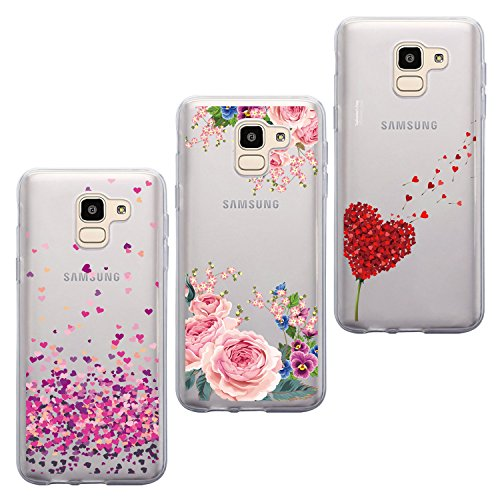 ivencase Compatible with Cover Samsung J6 2018 iven-uk-65990
