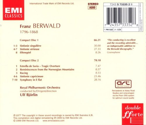 Berwald: 4 Symphonies