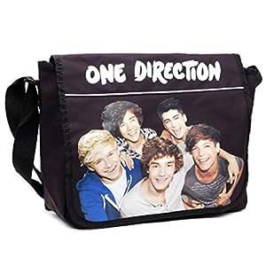 One Direction Black Messenger Bag