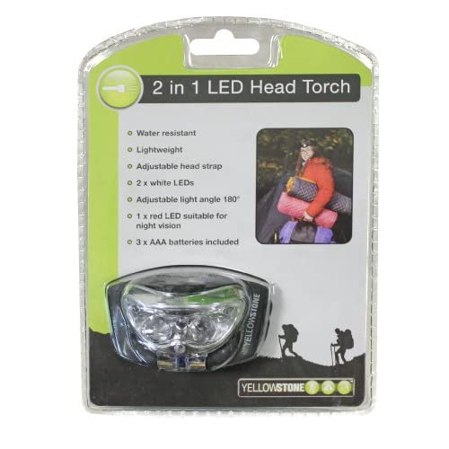 51cVMcqMvJL. SS500  - Yellowstone 2in1 Headlamp - Black, 1 Pack