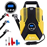 Tyre Inflator Digital Tyre Pump Portable 12V Car Air Compressor with LCD Screen