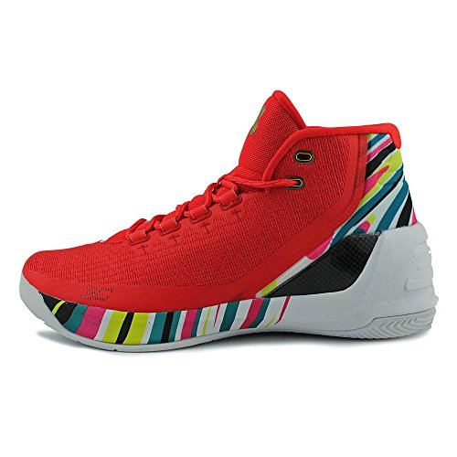 Under Armour Curry 3 Toile Baskets Rtr-Alu-Blk