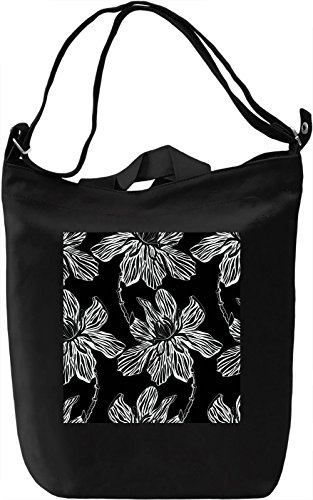 Flowers Print Leinwand Tagestasche Canvas Day Bag| 100% Premium Cotton Canvas| DTG Printing|