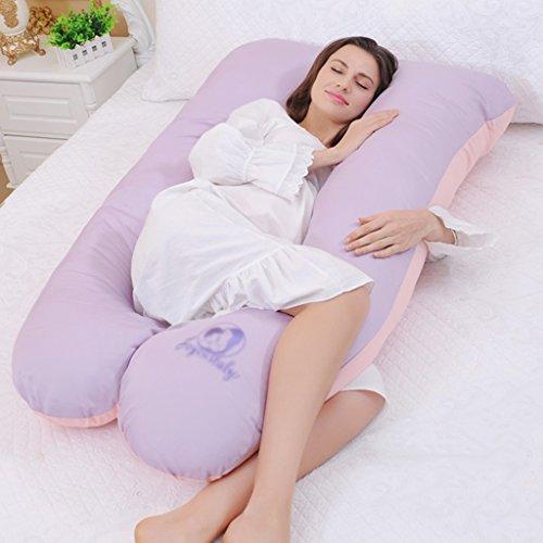 Ai Xin Shop Ganzkörper-Schwangerschaft-Kissen - U-förmige hypoallergen