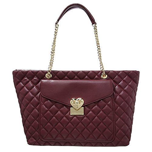 Love Moschino JC4014BOREAUX borsa donna pelle boreaux vinaccia modello shopping