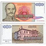 Collection House-500 Crore Yugoslavia banknote Old for Collection