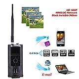 MINSENPIJU 4G Jagdkamera, Kamera GPS HD, die im Freien Natur der Infrarotwaldjagdkamera, Garten, inländische Sicherheitsüberwachung überwacht