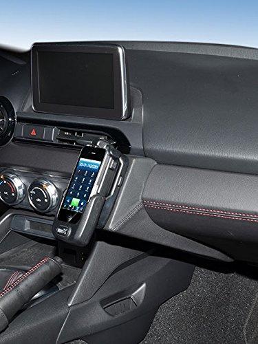 KUDA 2225 Halterung Kunstleder schwarz für Mazda MX5 (ND) ab 2015 Iso Mount (iso-radios