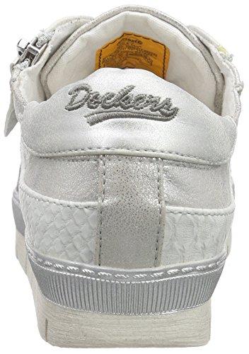 Dockers by Gerli 35ne217-686550, Sneakers Basses Femme Argent (silber)