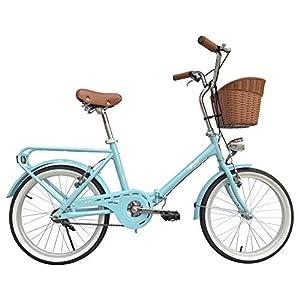 51cVUph8r8L. SS300 BeBikes La Mia Bicicletta Città Acciaio Turchese
