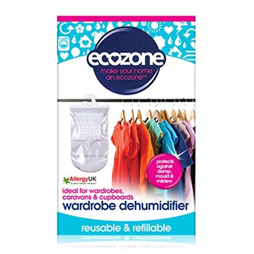 Ecozone HWD Kleiderschrank-Entfeuchter, ideal auch für Wohnwagen und Wandschränke (Lebensmittel Entfeuchter)