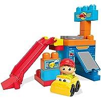 Mega Bloks First Builders Spin N Go Garage Building Set