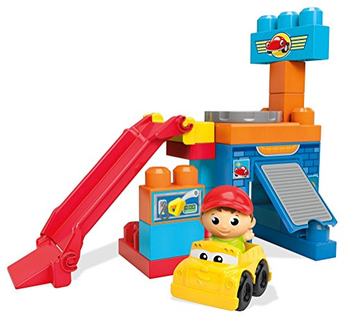 Mega Bloks - Juego construcción Garaje Principiantes
