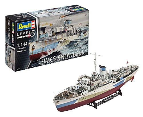 Revell- hmcs snowberry kit di montaggio modello nave, multicolore, 05132