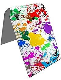 Stray Decor (Paint Splats) Étui à Cartes / Porte-Cartes pour Titres de Transport, Passe d'autobus, Cartes de Crédit, Navigo Pass, Passe Navigo et Moneo