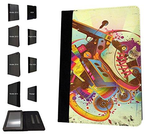 002349-collage-vintage-cassette-tape-old-shoe-gun-design-amazon-kindle-fire-7-5th-generation-2015-mo