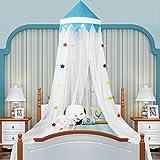 CHANG XU DONG SHOP Star Lace Zanzariera Cupola Princess Bed Baldacchino Adatto per Ragazzi Camera da Letto Camera da Letto Installazione Rapida Non Chimica Letti Estivi (Colore : C)