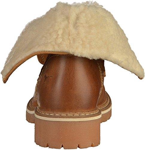 Mustang Damen Boots - Braun Schuhe in Übergrößen Braun(Cognac)