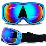 LYLhmj Skibrille Ski-Schutzbrillen Snowboard Brille Outdoor-Sport Snowboard-Schutzbrillen Anti-Nebel...