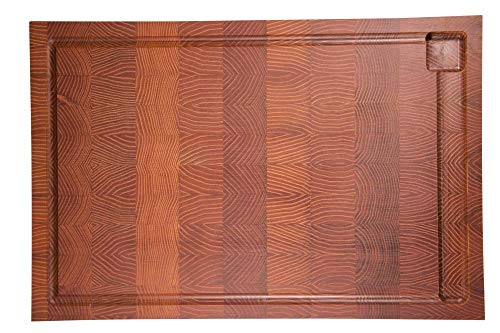 scanwood Mit dekorativer Stirnholz-Verleimung